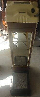 Amusement Watling Scale 1930's Penny Weight and Fortune/Answer Drugstore Scale
