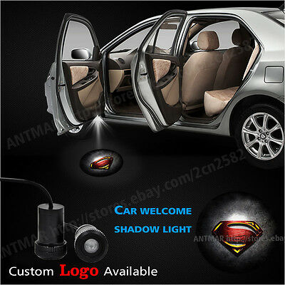 Car Door Led Courtesy Welcome Laser Superman Logo Projector Ghost Shadow Light