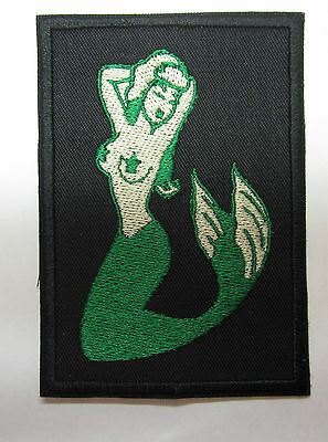 Mermaid sailor's mermaid patch  Iron or Sew On Patch