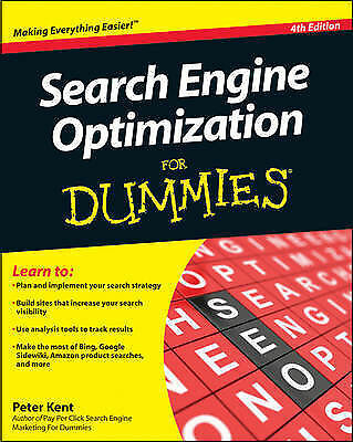 Search Engine Optimization For Dummies-ExLibrary