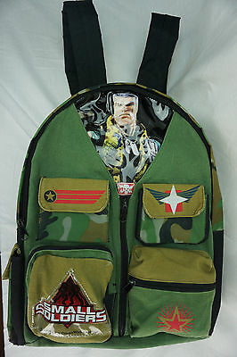 Vintage 1998 Small Soldiers Dream Works Movie Backpack