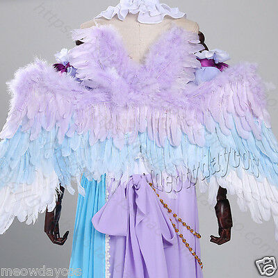 Love Live ! Lovelive White Valentine's Day Angel Wings Cosplay Props Feather NEW