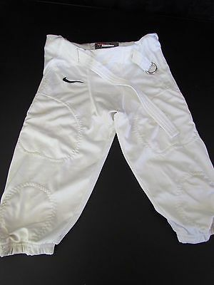 Nike youth football pants size L white