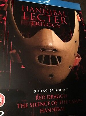 THE HANNIBAL LECTER TRILOGY [Blu-ray Box Set] 3 Movie Collection (Region Free)