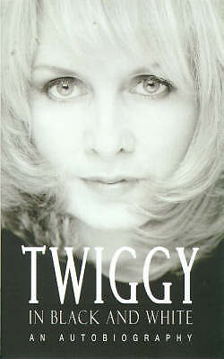 Twiggy in Black and White: An Autobiography-ExLibrary