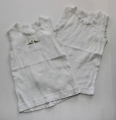 Baby Girls Or Boys Marquise Singlet Set Size 00 Clothing