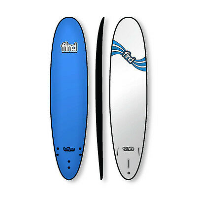 "Find 8'0"" Tuffpro Mini Mal Soft Surfboard Blue"