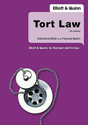 Tort Law: Uk Edition-ExLibrary