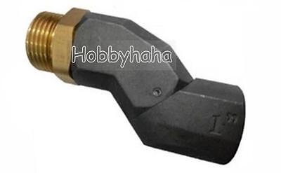 """360 Degree BSPP 1"""" Male to 1"""" Female fuel Swivel Hose universal joint"""