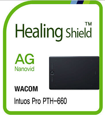 For WACOM Intuos Pro PTH 660 HealingShield AntiGlare Screen Protector Matte Film