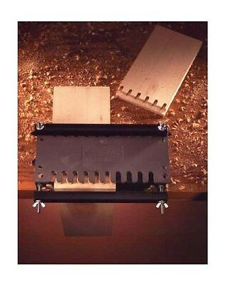 """12"""" Dovetail Router Joint Fixture Jig Dove Tails Box Joints W/ Aluminum Template"""