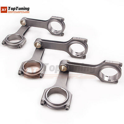 ATT forged H connecting rods bielles for Audi A6 quattro B5 RS4 2.7T 6 cyl Rods