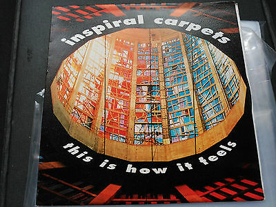 Single Promo Inspiral Carpets - This Is How It Feels - Mute Spain 1990 Vg+