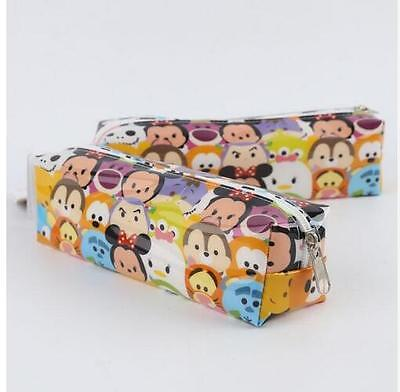 Tsum Mickey Minnie Donald Duck Cartoon Students Bags Student Stationery Surface