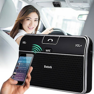 Bluetooth Handsfree Car Kit Wireless Speakerphone Speaker for  Mobile Phone AU