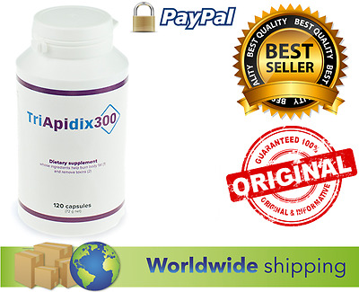 NEW TriApiDix300 - 120 capsules Wieght Loss Utlra Slim System Piperine Piperin