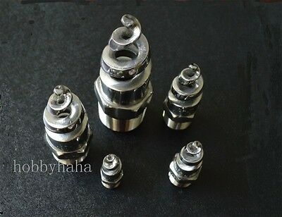 """2 pcs 1"""" BSPT  Stainless Steel Spiral Spray Nozzle"""