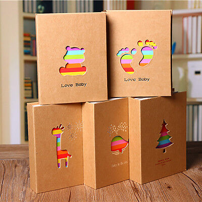 6inch 100-Pocket Cartoon Photo Picture Storage Album Case for Baby Kids Family