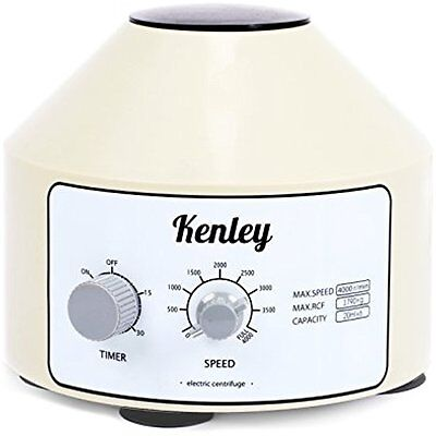 Kenley Desktop Electric Lab Laboratory Centrifuge with Timer and Speed Control