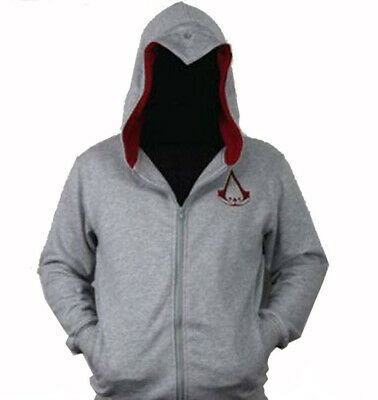 Felpa Cappuccio Cosplay Costume Assassin's Creed Ezio Connor Hoodie Capuche