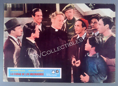 Lobby Card~ MEN OF BOYS TOWN ~1941 ~Spencer Tracy ~Bobs Watson ~etc