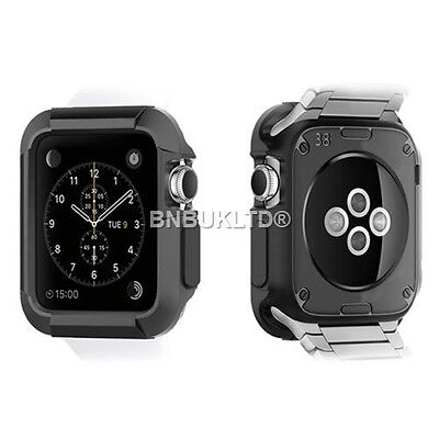 Full Rugged Hard Protective Case Cover Armor for Apple Watch 42mm