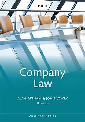 Company Law (Core Text)-ExLibrary