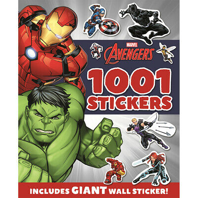Marvel Avengers Assemble 1000 Stickers Book