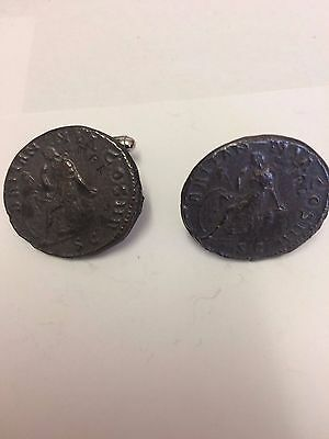 Ant Pius Roman Coin WC24A  Pair of Cufflinks Made From English  Pewter