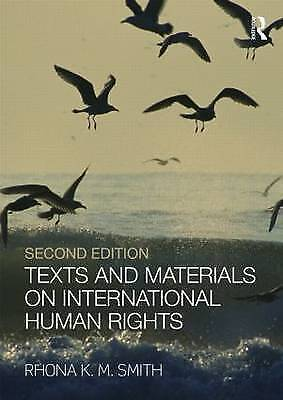 Texts and Materials on International Human Rights-ExLibrary