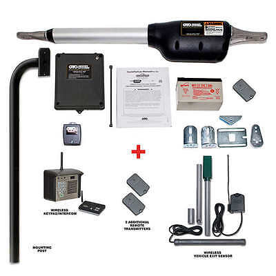 Mighty Mule Triton I Deluxe Automatic Dual Gate Opener Package, NO TAX