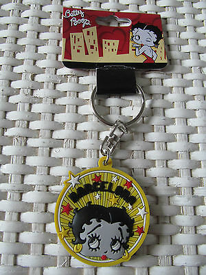 PORTE CLE BETTY BOOP rond Réf.11415
