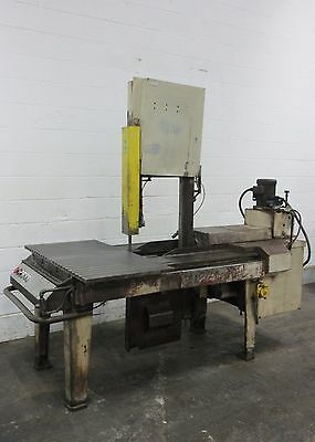 MARVEL INDUSTRIES Heavy Duty Vertical Band Saw — Used — AM15602