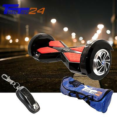 "8"" Smart Equilibrio Scooter DARKNESS Samsung Batteria Bluetooth Ruote Hoverboard"