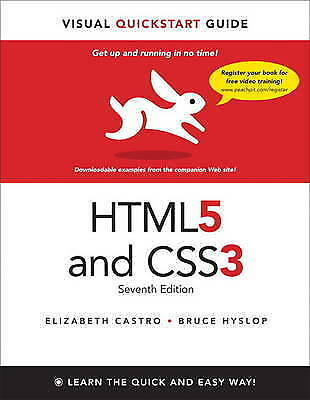 HTML5 & CSS3 Visual QuickStart Guide (7th Edition)-ExLibrary
