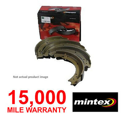 Rear Mintex Brake Shoes Set For Smart Forfour (2004-2006) Brand New