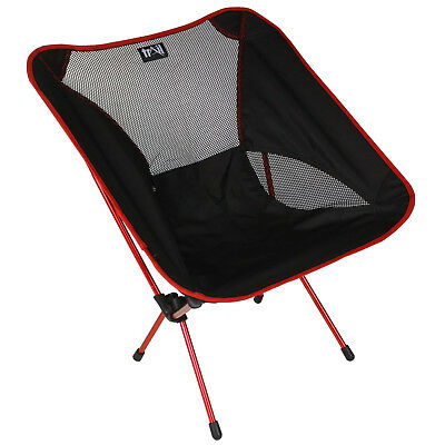 Lightweight Folding Camping Chair Portable Outdoor Fishing Seat Ultra-Light 1kg