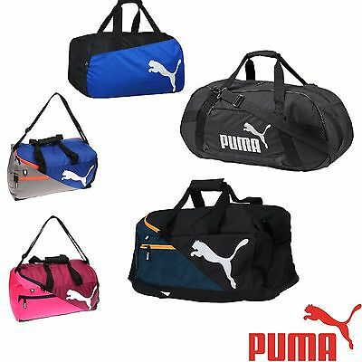 Puma Sports Holdall Mens Ladies Lightweight Gym Training Football Strap Bag