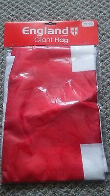 HUGE 5ft x 3ft St George Cross Flag Massive Giant England English Funeral Flags