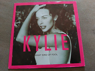 Single Promo Kylie Minogue - What Kind Of Fool - Pwl Spain 1992 Vg+
