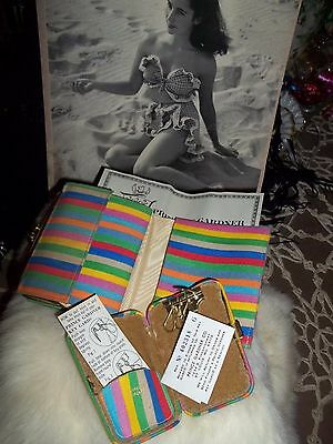 Vintage Retro New Old Stock Princess Gardner Wallet & Key Holder..COOL!!!