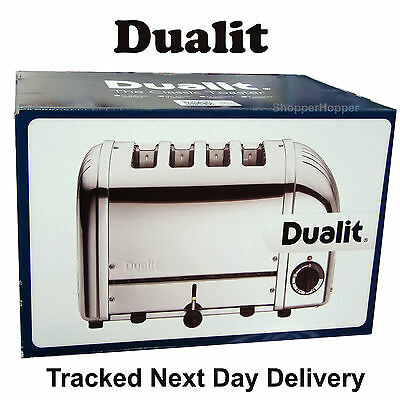 Dualit 4 Slice Vario AWS Toaster Polished Stainless Steel 40378 Dulit