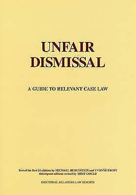 Unfair Dismissal: A Guide to Relevant Case Law-ExLibrary