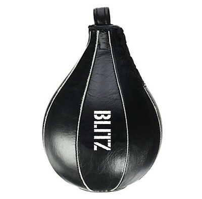 Blitz Leather Speed Bag Speed Ball Boxing Training