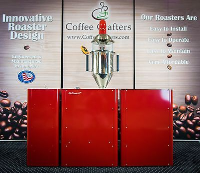 Artisan 6M, 6 lb Commercial Coffee Roaster in RED | Coffee Roasting Equipment