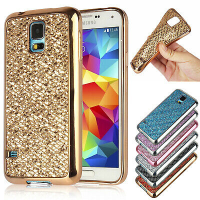 Luxury Ultra Slim Soft TPU Silicone Bling Back Case Cover For Samsung S8 S7 Edge