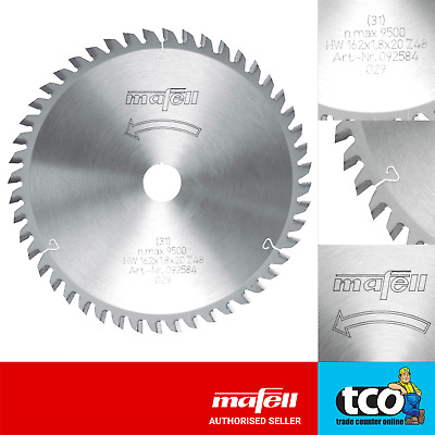 Mafell TCT Standard Saw Blade for MT55cc 162 x 1.8 x 20 - 48 Teeth - 092584