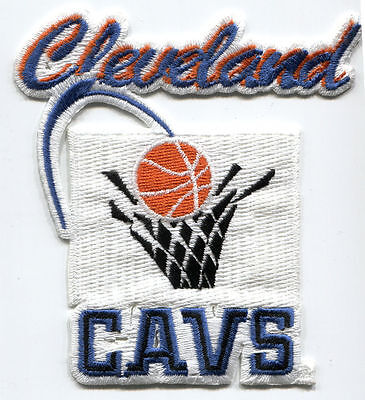 "1994-2003 Cleveland Cavaliers Cavs Nba Basketball 3 3/4"" Diecut Team Patch"
