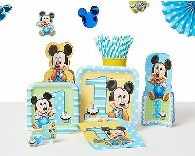Mickey Mouse High Chair Decorating Kit  from www.picclickimg.com
