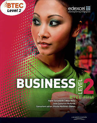 Btec First Business Level 2-ExLibrary
